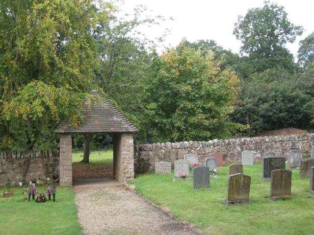 Lych gate, Berkswell churchyard