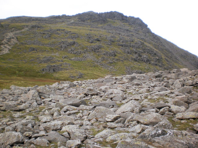 Esk Pike from Ore Gap