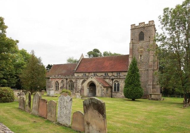 All Saints, Wickhambrook