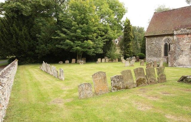 All Saints, Wickhambrook - Churchyard