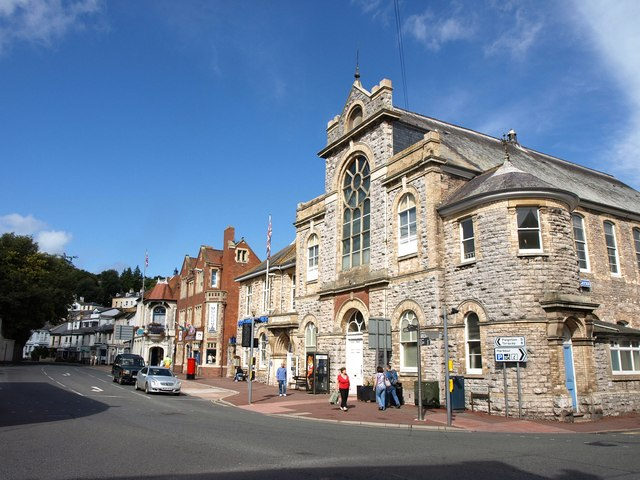 Brixham Town Hall, Market Hall and theatre