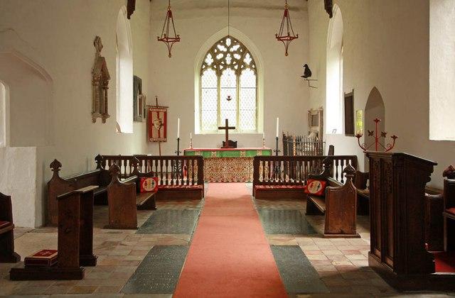 All Saints, Wickhambrook - Chancel