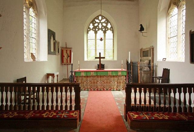 All Saints, Wickhambrook - Sanctuary