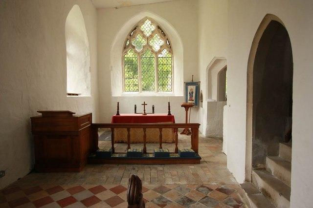 All Saints, Wickhambrook - North chapel