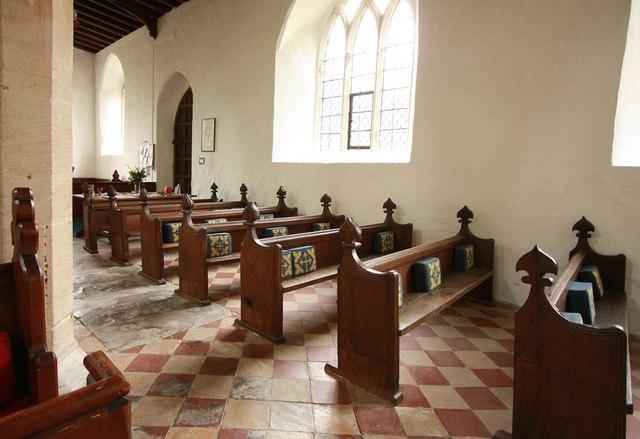 All Saints, Wickhambrook - Pews