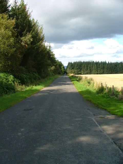 Minor road to Balgowan