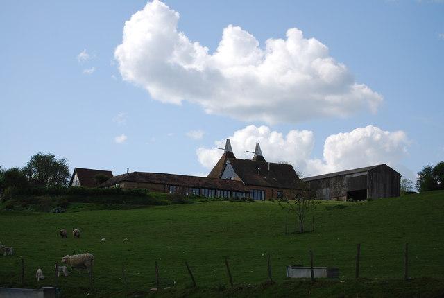 Twin Oast Farm House
