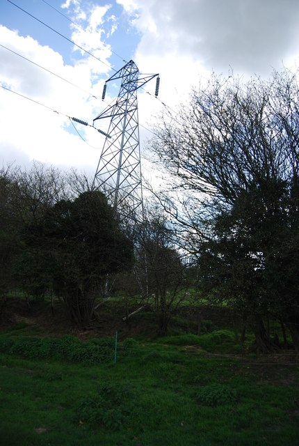 Pylon by the 1066 Country Walk