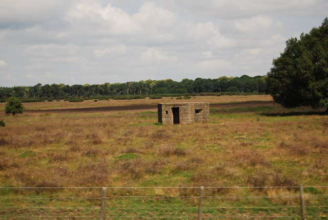 Pillbox, Weather Heath