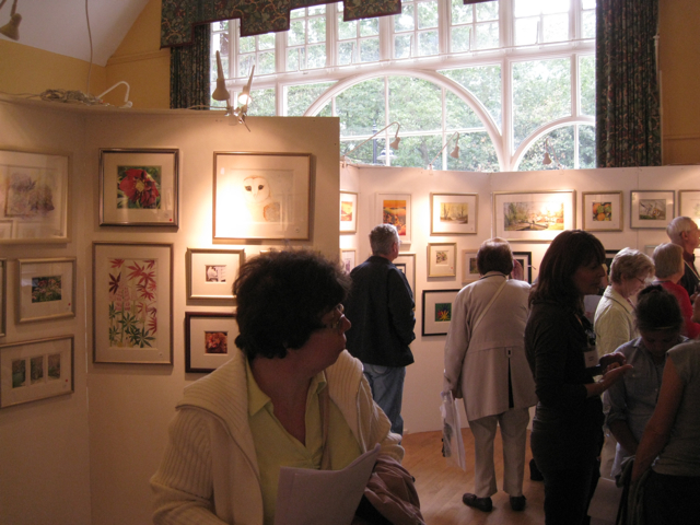 Exhibition of watercolours, Berkswell village hall