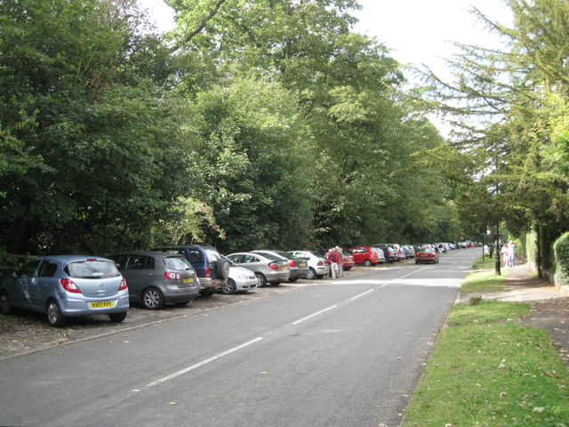 Parking for the village hall, Meriden Road