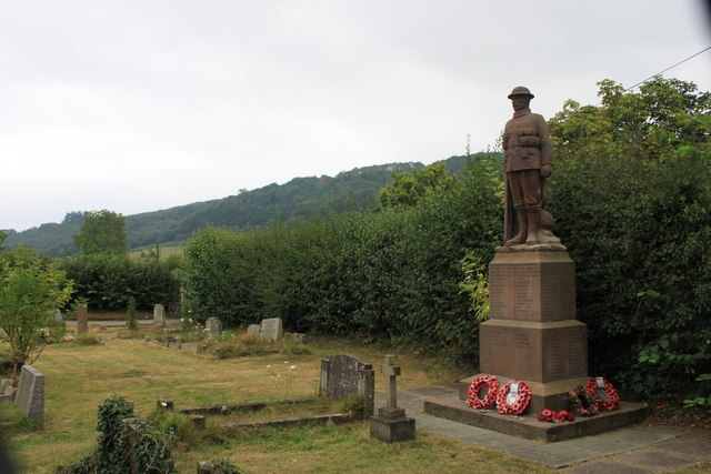 Stokesay war memorial