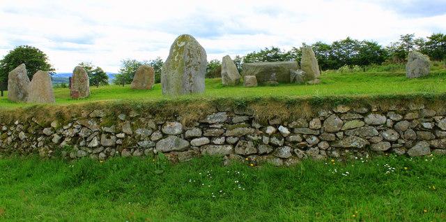 Stone Circle at Easter Aquhorthies