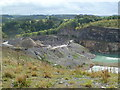 SK2265 : Shiningbank Quarry by Graham Hogg