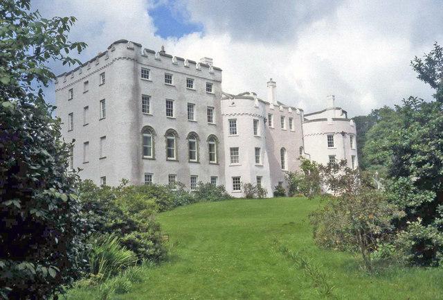 Picton Castle - South Elevation