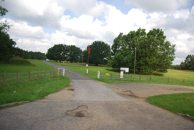 Entrance to Thetford Rifle Range