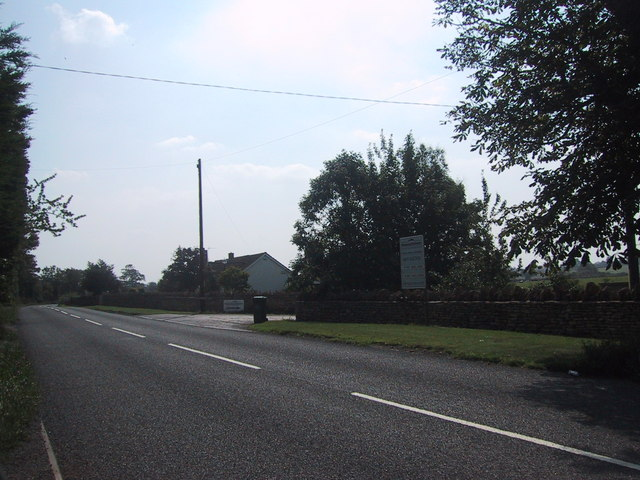 B4122 near Draycot Cerne