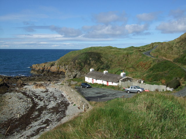 Thatched cottage at Niarbyl