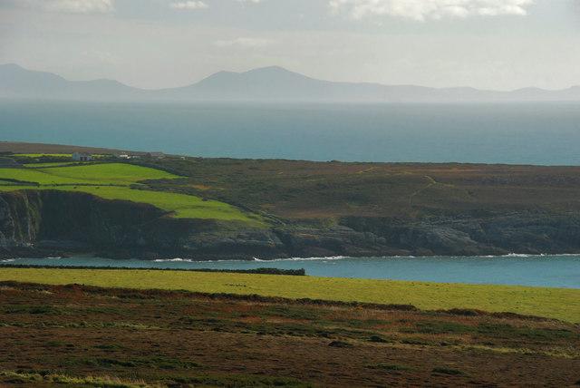 Looking towards the Lleyn peninsula