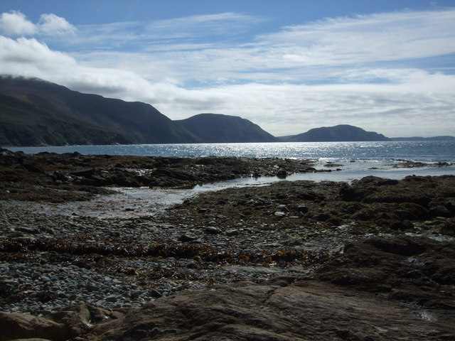 View from foreshore at Niarbyl