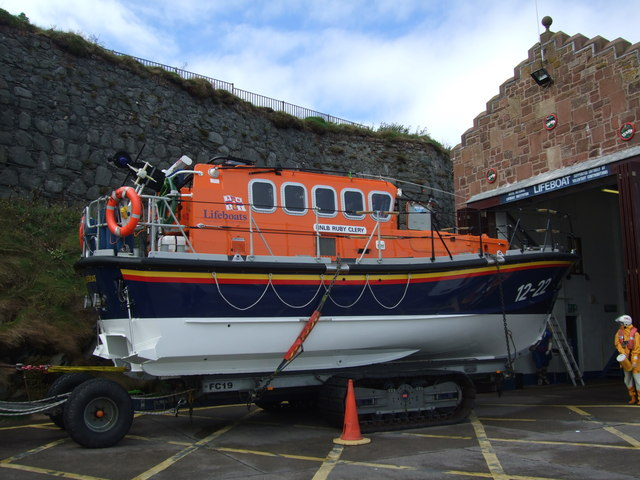Peel lifeboat - Ruby Clery