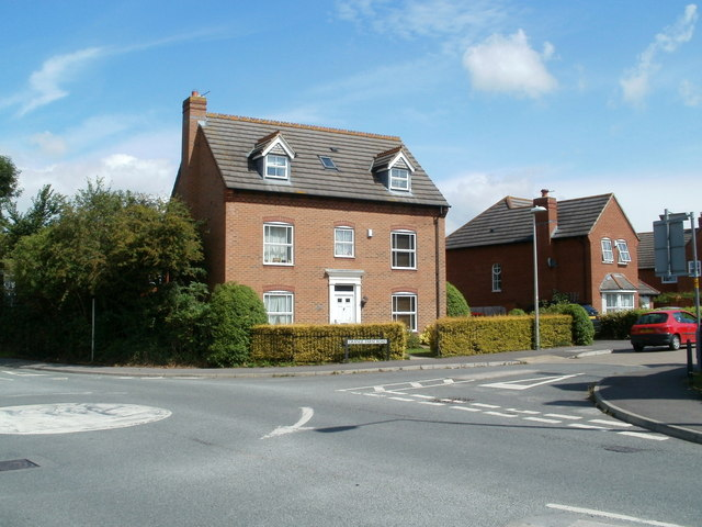 Corner house, Grange Farm Road, Yatton
