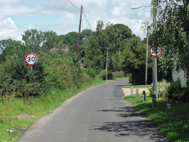 Swingfield, Wootton, Wootton Lane