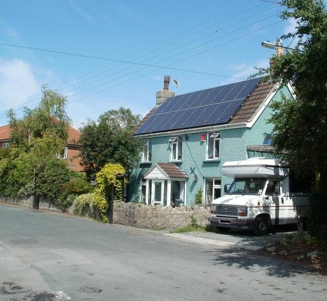 Solar panels, Horsecastle Farm Road, Yatton