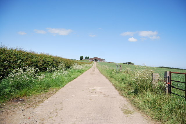 Farm access track off Sea Lane