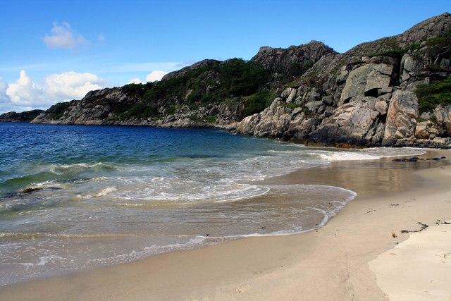 Beach on Ardnish