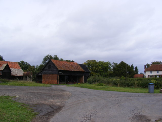 Farm Buildings at Bentries Farm