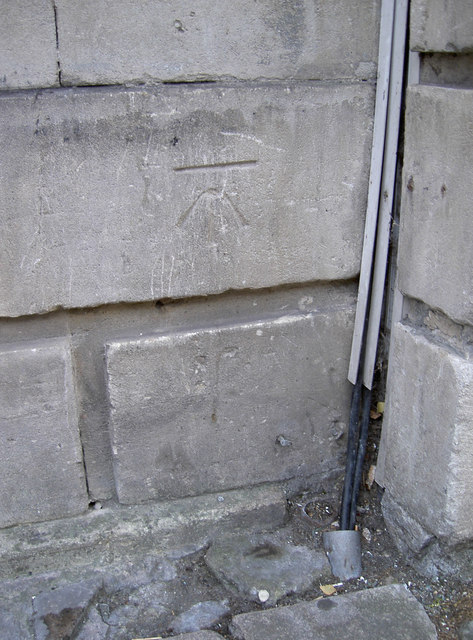 Benchmark in Argyle Street