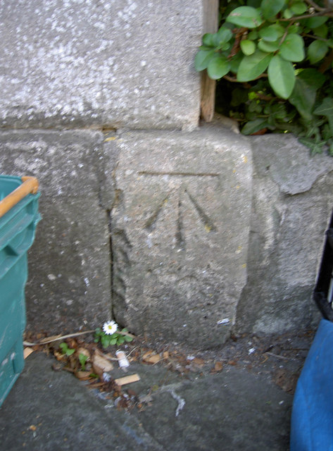 Benchmark on 1 Bathwick Terrace