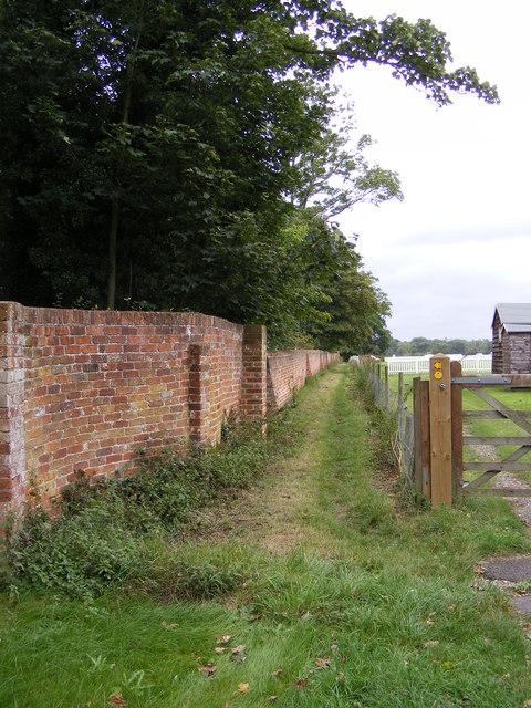 Footpath to Parham