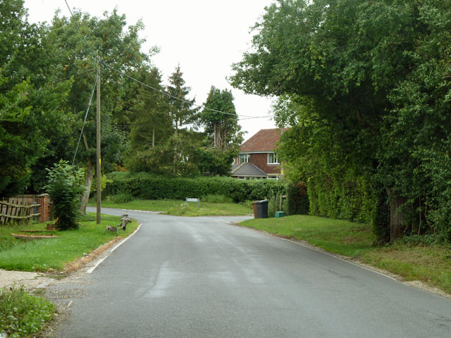 The old main road, Chalk End