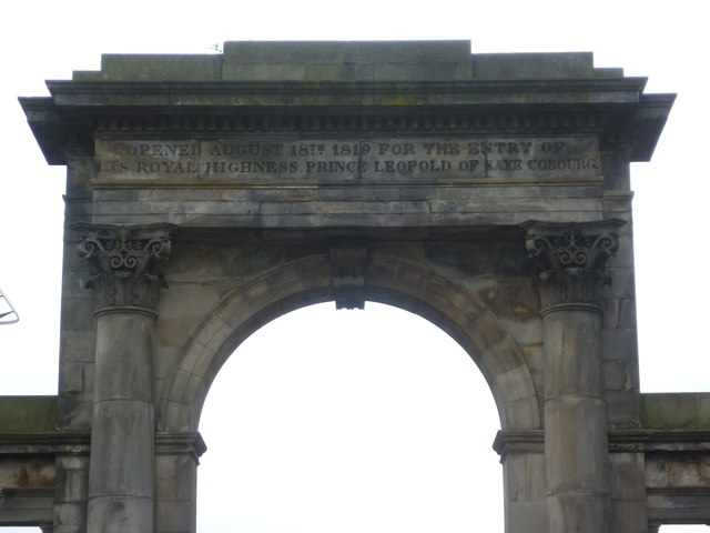 Regent Bridge south screen inscription
