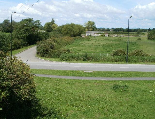 Eastern side of Horsecastle Farm, Yatton