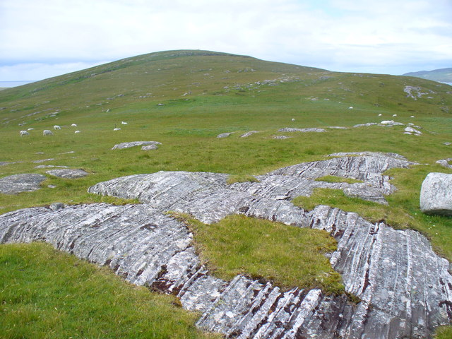 Rock Striations, Berneray
