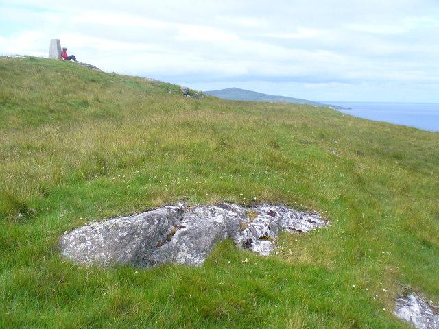 On Top of Beinn Shleibhe