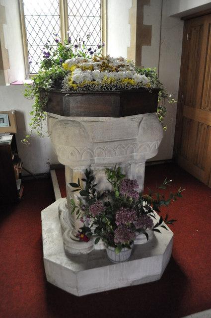 St Michael, Peasenhall - Font