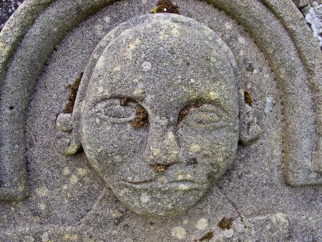 Gravestone at Path of Condie
