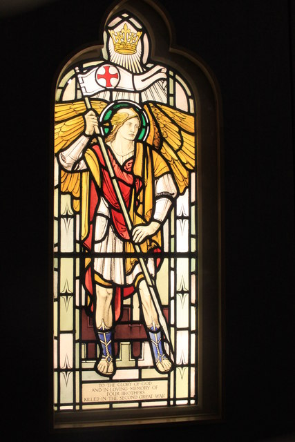 Bools memorial window in the RAF Museum, Hendon