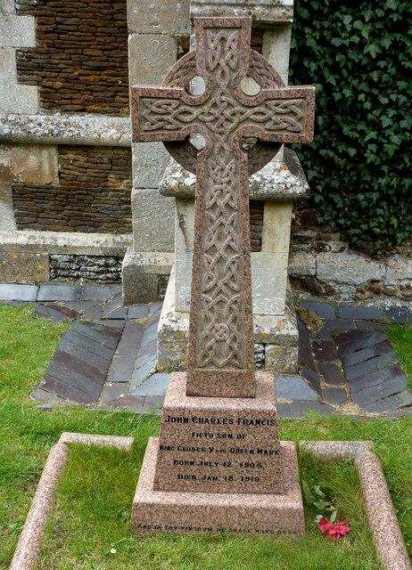Prince John's grave, Sandringham