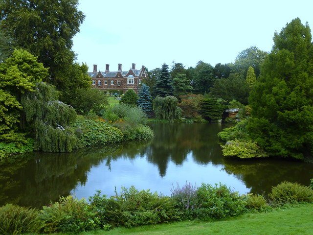 The west lake, Sandringham
