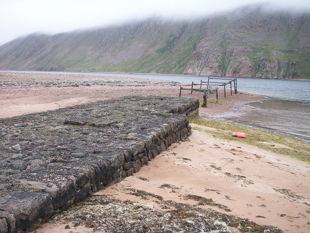 Pier at the Blade, Ronas Voe