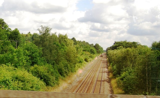 The Breckland line north of the A11