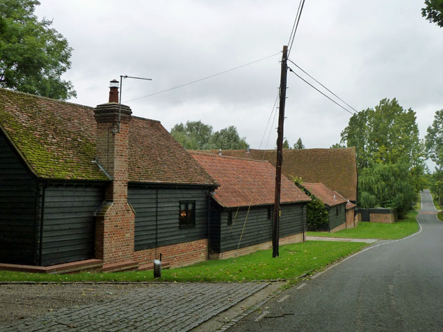 Converted barns, High Easter
