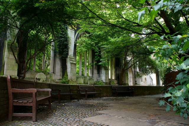 St.Dunstan in the East Church Garden, London