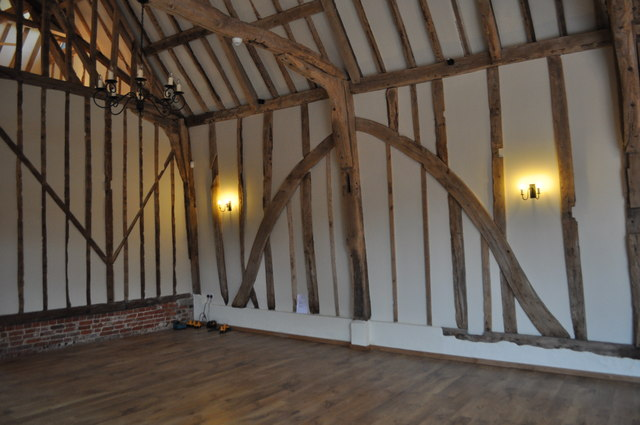 Bruisyard Hall - Barn