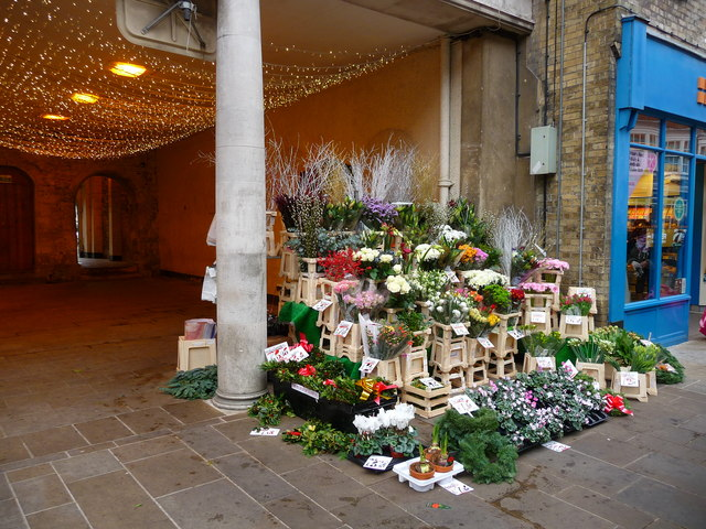 Winchester - Flower Stall